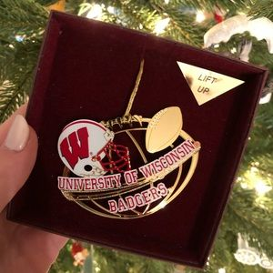 Other - University of Wisconsin Gold Christmas Ornament
